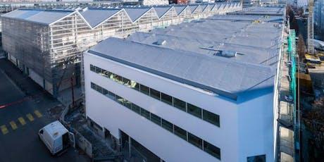 Découvrez la reconversion des anciennes halles Alstom de l'île de Nantes ! billets
