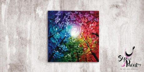 Sip & Paint MY @ EGG Sunway: Rainbow Forest tickets