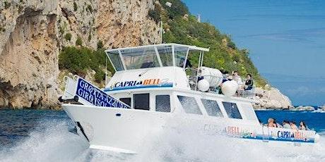 Capri Coast to Coast Boat Excursion tickets