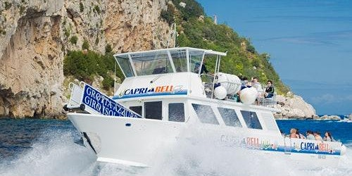 Capri Coast to Coast Boat Excursion