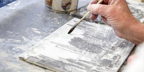 Delft Blue Workshop: Paint Your Own Tile tickets