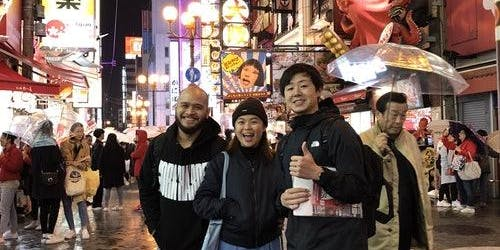 Namba Night Walking Tour