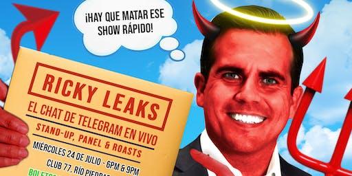 Ricky Leaks - El Chat de Telegram en Vivo