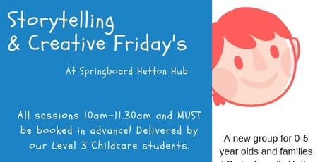 The Three Little Pigs - Storytelling & Creative Friday's tickets