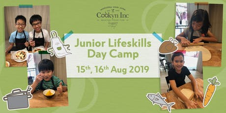 Junior Lifeskills Day Camp: Cooking (August 2019) tickets