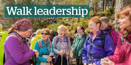 Walk Leadership Training - Course 1 (Aberdeen) - 9 Nov 2019 & 25 April 2020