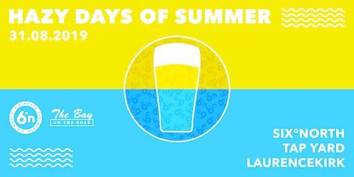 Hazy Days of Summer: Tap Yard at six°north