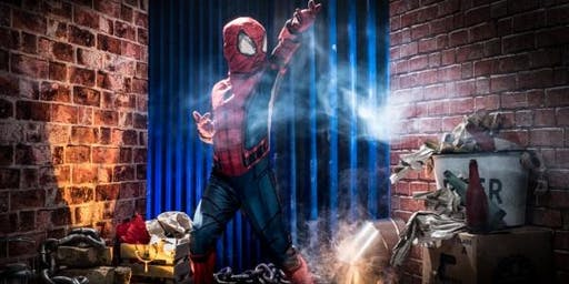 Superheroes and villains' children's photoshoot in Bury St'Edmunds