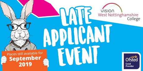 Late Applicant Event tickets