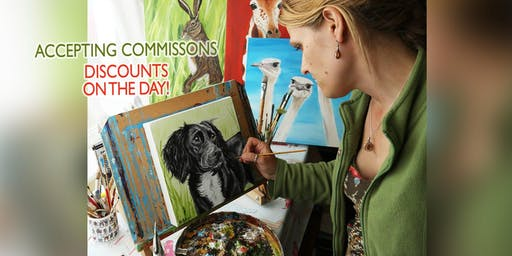 Meet The Artist includes special offers on the day