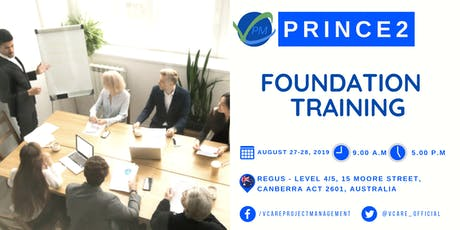 Prince2 Foundation Training | Canberra | August | 2019 tickets