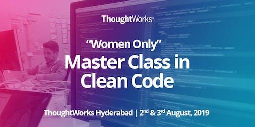 Master Class in Clean Code