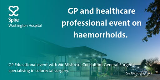 GP Education event on haemorrhoids