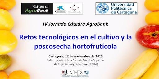 Retos tecnológicos en el cultivo y la poscosecha hortofrutícola.