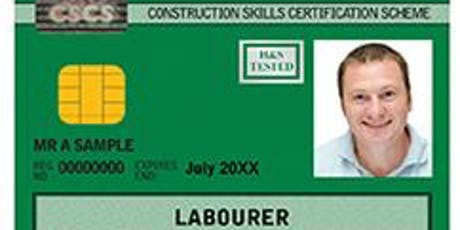 FREE CSCS training and card - Portsmouth tickets