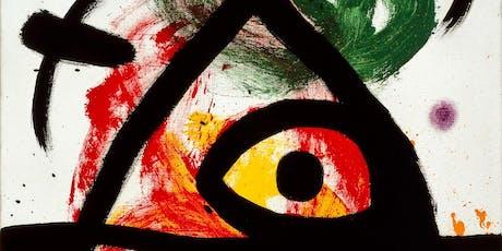 """Exhibition """"Universo Miró"""" billets"""