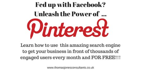 The Power Of Pinterest Workshop - Advertising your business online tickets