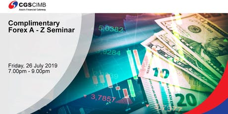 Complimentary Forex A-Z Seminar tickets