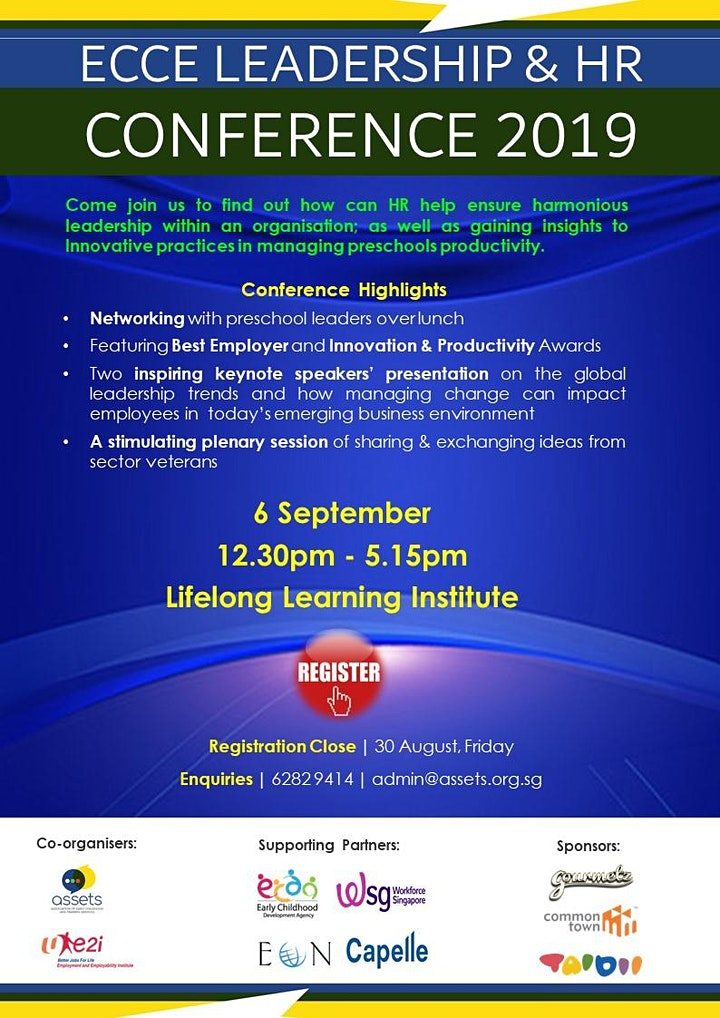 Early Childhood (ECCE) Leadership and HR Conference 2019 by ASSETS & e2i image