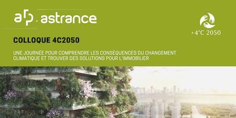 Colloque 4C2050: une journée pour comprendre les conséquences du réchauffement climatique et trouver des solutions pour l'immobilier billets