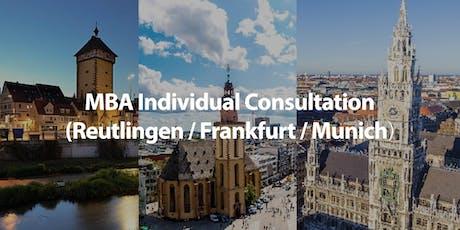 CUHK MBA Individual Consultation in Frankfurt Tickets