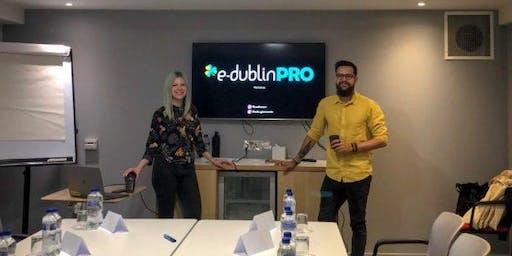E-DublinPRO Workshop com Edu e a Mah - Floripa