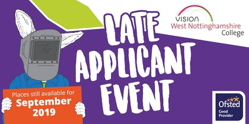 Late Applicant Event - Engineering and Transport Skills