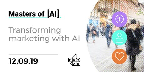 Masters of AI | Transforming Marketing with AI tickets