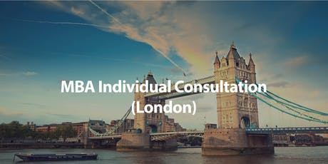 CUHK MBA Individual Consultation in London tickets