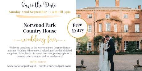 Norwood Park Autumn Wedding Fair tickets
