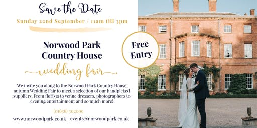Norwood Park Autumn Wedding Fair