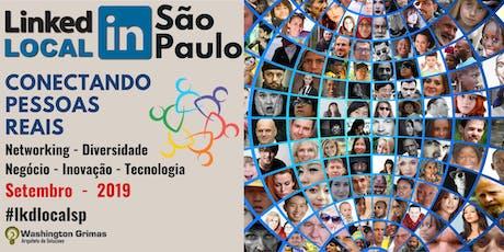 #LinkedInLocal São Paulo - CONECTANDO PESSOAS REAIS ingressos