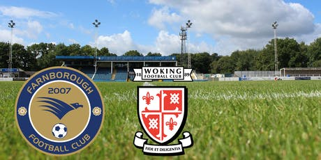 Farnborough vs Woking tickets
