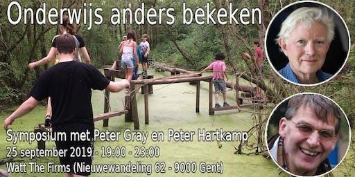 Onderwijs Anders Bekeken: Symposium met Peter Gray en Peter Hartkamp