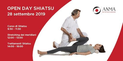 OPEN DAY SCUOLA DI SHIATSU