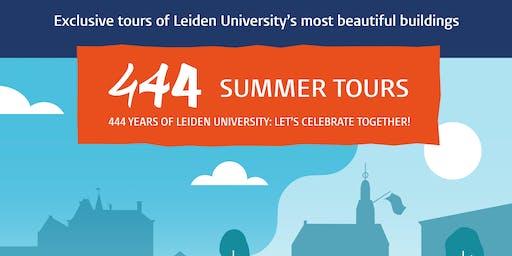 444 - Summer tours - ENG - Academybuilding + Bibliotheca Thysiana