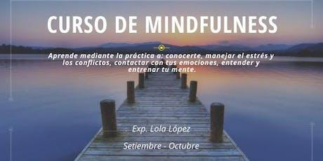 Curso de Mindfulness tickets