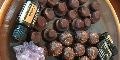 Raw Chocolate Making Class With doTERRA Essential Oils