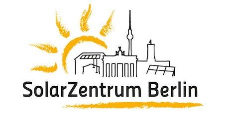 """Informationsveranstaltung Förderprogramm """"Stromspeicher Berlin"""" Tickets"""