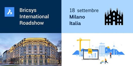 Bricsys International Roadshow: ITALY biglietti