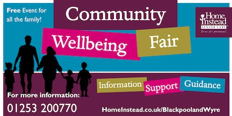 Community Wellbeing Fair - Blackpool tickets