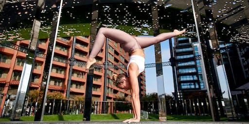 TSE presents: Outdoor yoga workshop with Cat Meffan