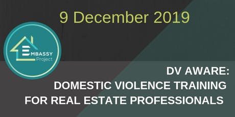 Sydney CBD DV-Aware (Domestic Violence Training) Real Estate Agents tickets
