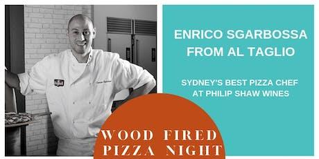Enrico Sgarbossa Pizza Night at Philip Shaw Wines tickets