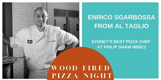 Enrico Sgarbossa Pizza Night at Philip Shaw Wines
