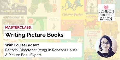 Masterclass: Create Picture Books w/ Penguin Editorial Director Lou Grosart tickets