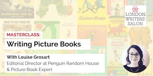 Masterclass: Create Picture Books w/ Penguin Editorial Director Lou Grosart