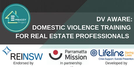 Wollongong DV-Aware (Domestic and Family Violence Training) Real Estate Agents tickets