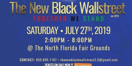 The New Black Wall St tickets
