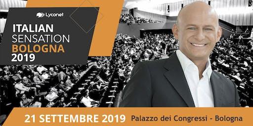 ITALIAN SENSATION BY LYCONET ITALIA - 21 SETTEMBRE 2019